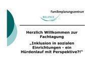 Einleitung und Einführung in das Programm von Sybill Schulz ... - FPZ
