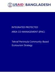 Teknaf Peninsula Community-Based Ecotourism Strategy ...