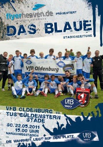 TuS Güldenstern Stade - VfB Oldenburg
