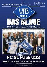 Das Blaue - Saison 2012/2013 #1 - VfB Oldenburg