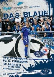 FC Hansa Lüneburg - VfB Oldenburg
