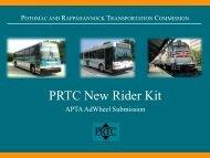 PRTC New Rider Kit