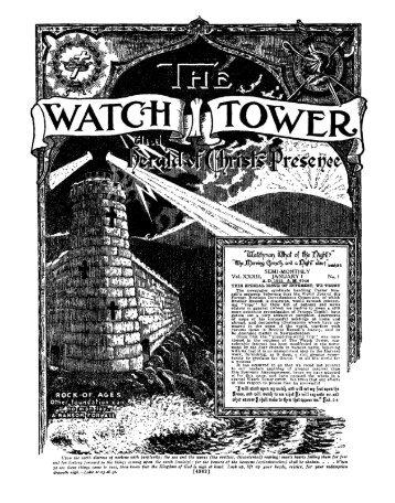 1912 Watch Tower - A2Z.org