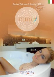 Best of Wellness & Beauty 2010 - Dolce Vita Hotels