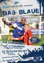 TSV Ottersberg - SV Teutonia Uelzen - VfB Oldenburg