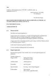 1 101c Vedtatt av Asker kommunestyre 19.09.2001 i medhold av plan