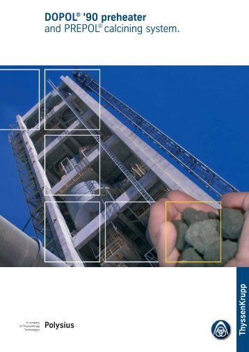 DOPOL® '90 preheater - ThyssenKrupp Resource Technologies