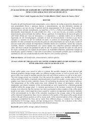 avaliação da qualidade de café beneficiado ... - Deag.ufcg.edu.br