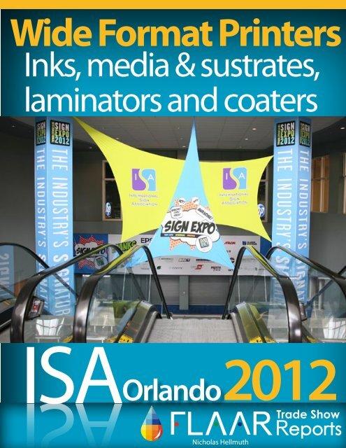 Inks, media & sustrates, laminators and coaters - large-format ...