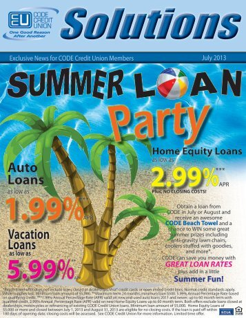 July - CODE Credit Union