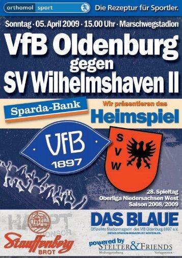 Freitag, 03. April 2009 Die VfB-Pressekonferenz - VfB Oldenburg