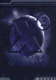X3:reunion Manual