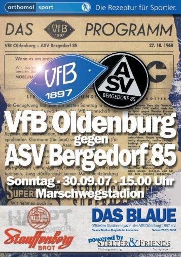 ASV Bergedorf 85 - VfB Oldenburg
