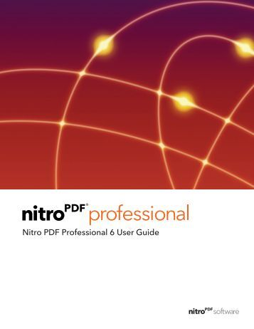 Nitro PDF Professional 6 | User Guide