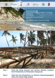 South-east Indian Coast field trip guide - Coastal-Change.Org