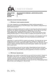 bijlage 3 - Productschap Akkerbouw