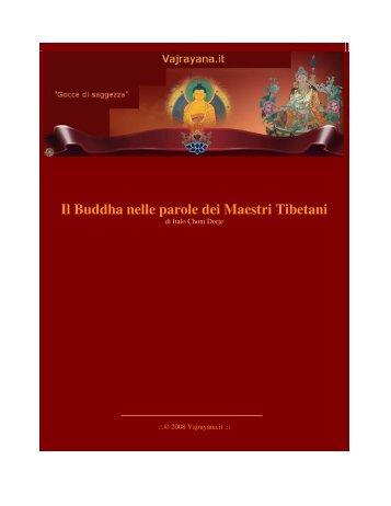 Il Buddha nelle parole dei Maestri Tibetani