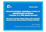 CDM appeals process Presentation - bvek