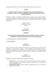 Zakon o osiguranju od odgovornosti za motorna vozila i ostale ...