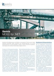itemis MDSD für .NET - itemis AG