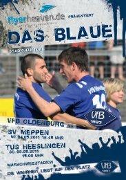 SV Meppen - TuS Heeslingen - VfB Oldenburg