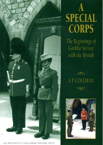 A Special Corps by A P Coleman, 1999 - philharding.net