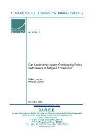 DT/WP No 2012-43 - Centre International de Recherche sur l ...