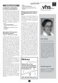 vhs Programmheft Herbst 2012 Download - Volkshochschule des ... - Page 7