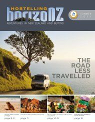 THE ROAD LESS TRAVELLED - YHA New Zealand
