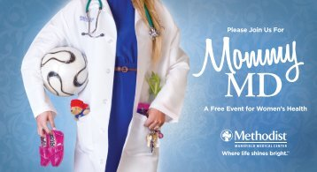 Please Join Us For A Free Event for Women's Health - Methodist ...