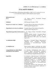 44/2009. (IV. 23.) MÖK határozat 1 - Veszprém megye honlapja