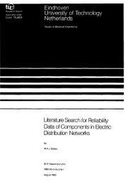 Literature Search for Reliability Data of Components in Electric - Tu/e