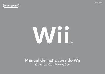 Manual de Instruções do Wii