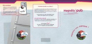 Magnétic-pub - Impressions Services