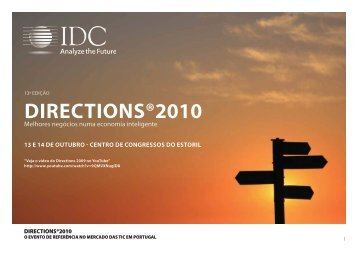 Directions®2010 - IDC Portugal