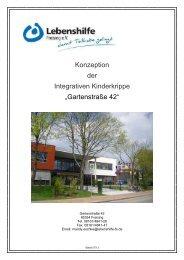 Konzeption der Integrativen Kinderkrippe im BiG Freising