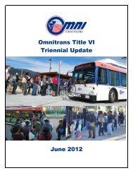 Title VI Report - Omnitrans
