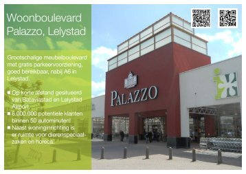 Woonboulevard Palazzo, Lelystad - Arcuris
