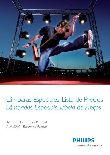 00 Portada Lamparas Especiales 2010:0 - Philips