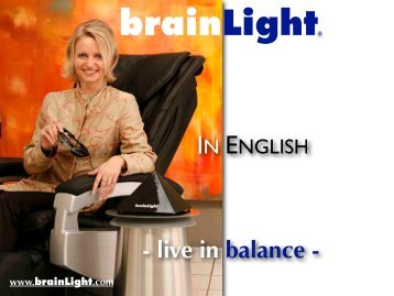brainLight® proven Wellness-Systems
