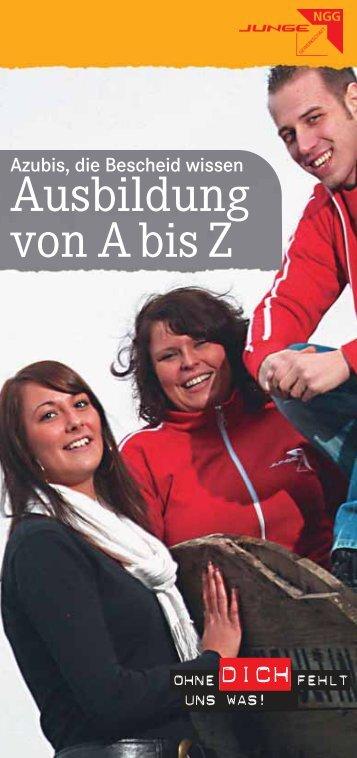 """Download """"Azubis, die Bescheid wissen"""" - NGG Region Bremen ..."""