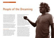 People of the Dreaming - Survival International