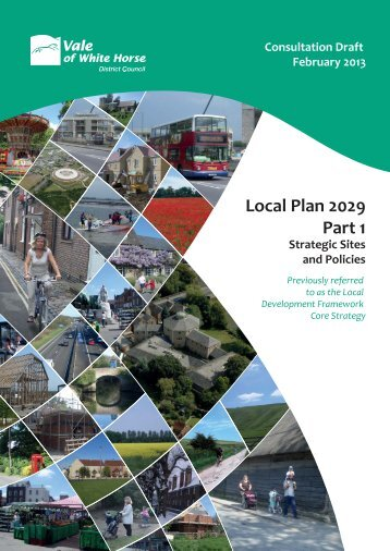 Vale of White Horse Local Plan 2029 Part 1 - Drayton-near ...