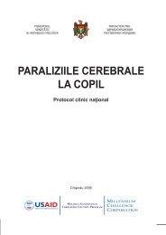 PARALIZIILE CEREBRALE LA COPIL - Ministerul Sănătăţii