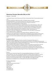 Warsteiner Premium Alkoholfrei fährt mit Sixt - Warsteiner Gruppe