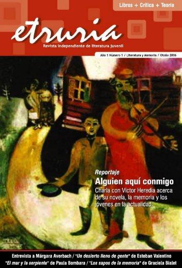 Revista Etruria - Plan Nacional de Lectura