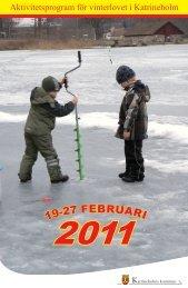 Vinterlovsprogram 2011 - Katrineholms kommun