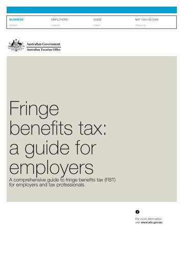 fbt guide for employers pdf
