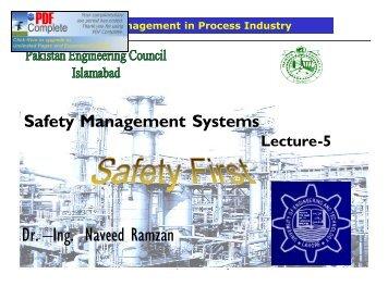 Dr. –Ing. Naveed Ramzan