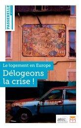 P A ssere LL e 09/2012 LE LOGEMENT EN EUROPE ... - Aitec - IPAM